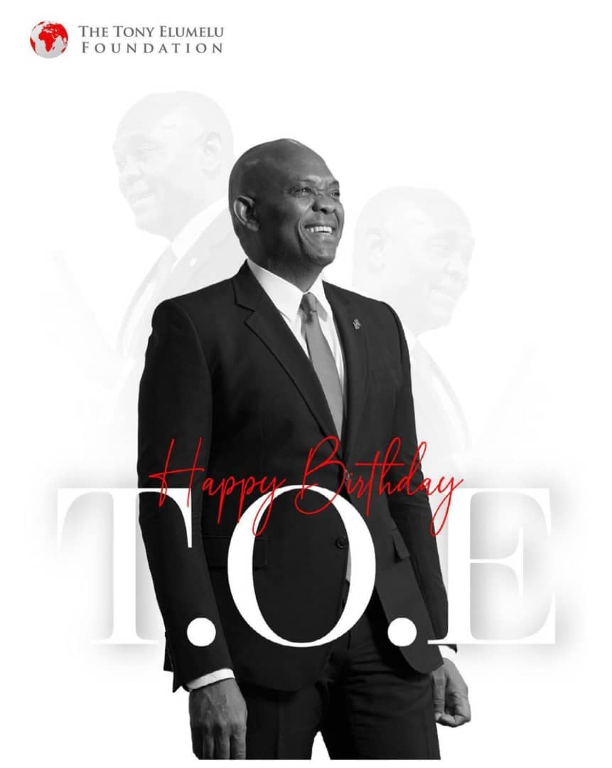 Happy Birthday to Tony Elumelu