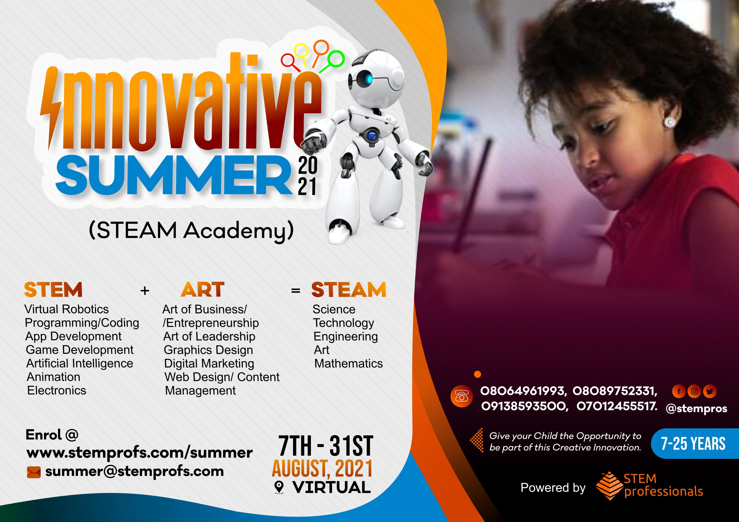 Africa's leading STEAM BootCamp