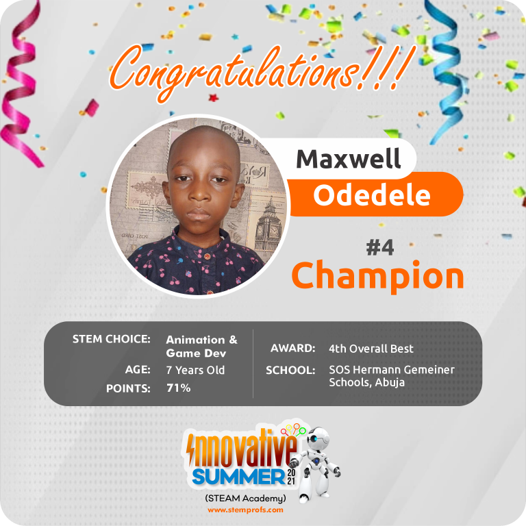 Maxwell Odedele